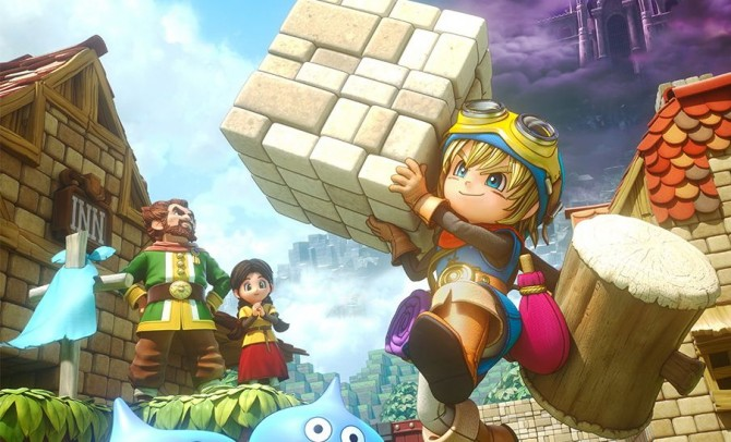 Dragon Quest Builders on track for October