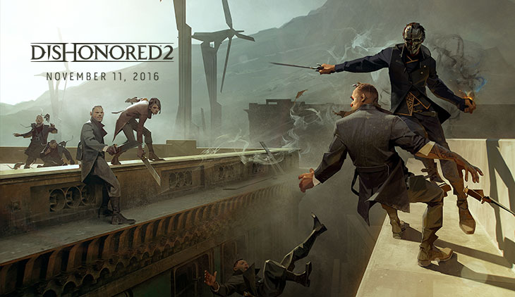Dishonored 2 release date revealed