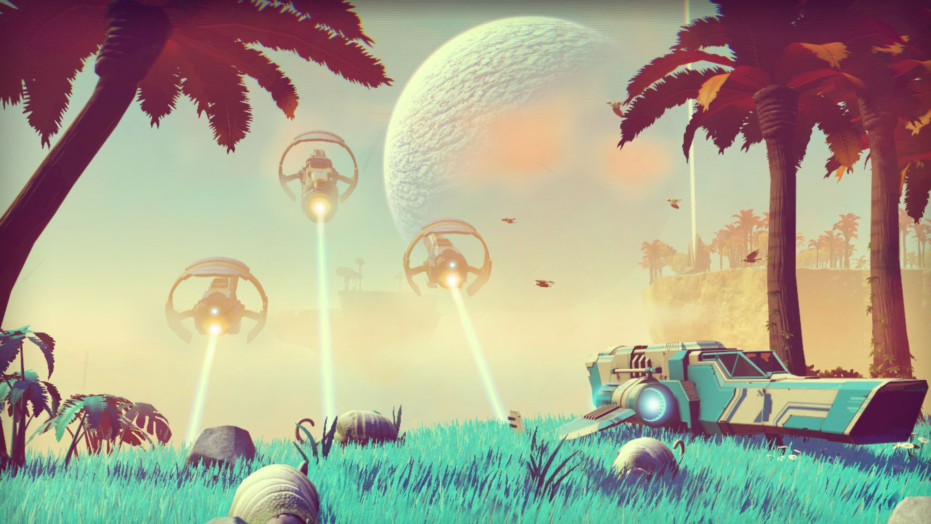 No Man's Sky day 1 patch, pets and…base building!?