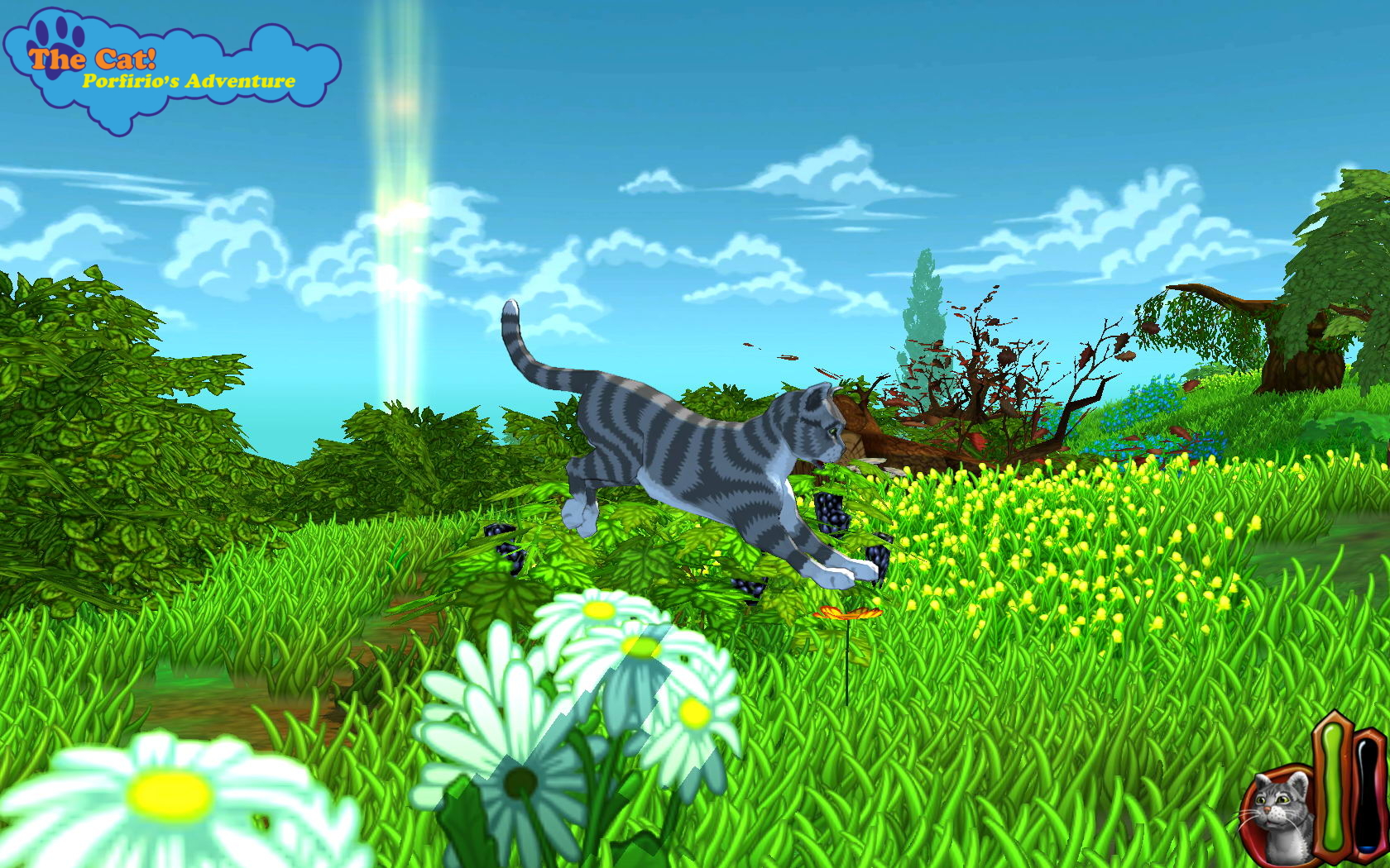 The Cat! Porfirio's Adventure, now available on Steam