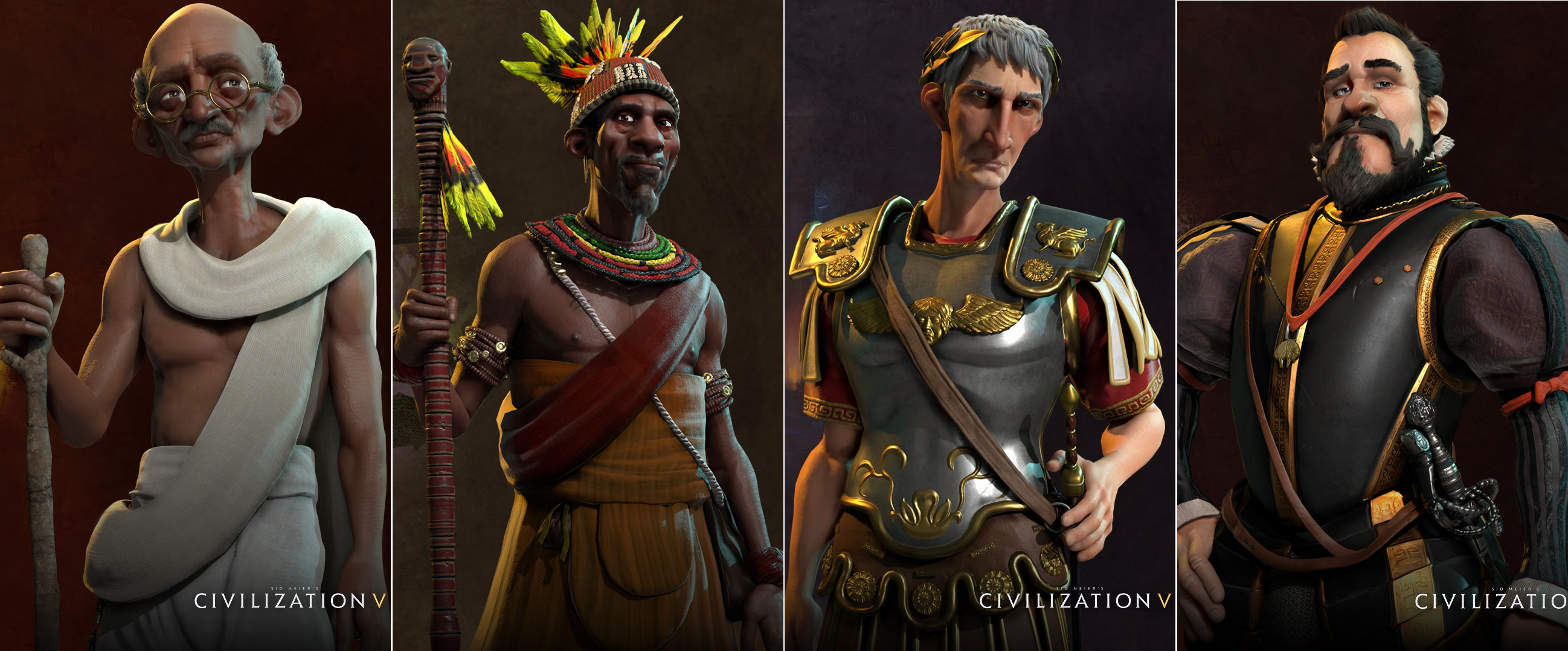 Civilization VI – Meet the Leaders – Part 2