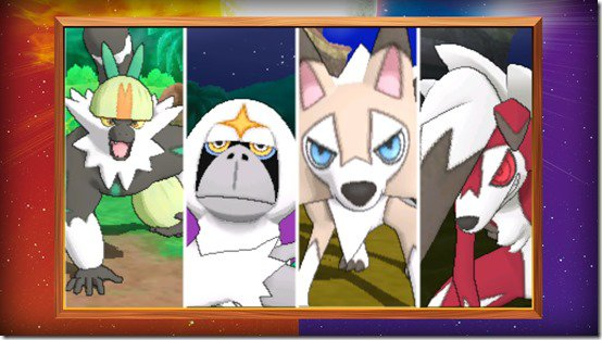Pokémon Sun and Moon as different as night and day