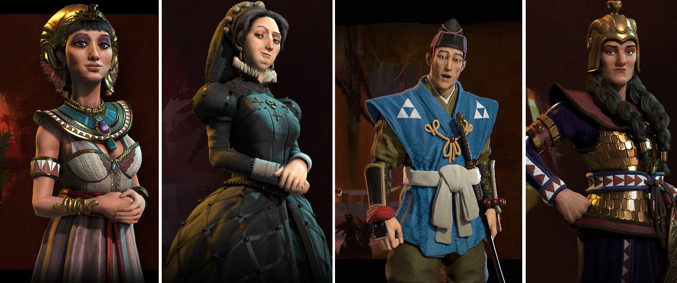 Civilization VI – Meet the Leaders – Part 1