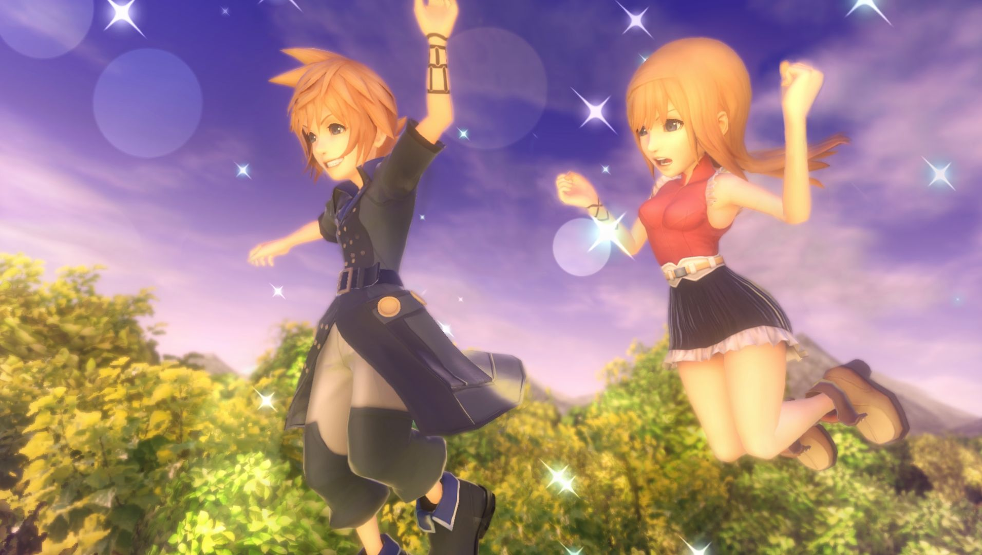 World of Final Fantasy Hands-On