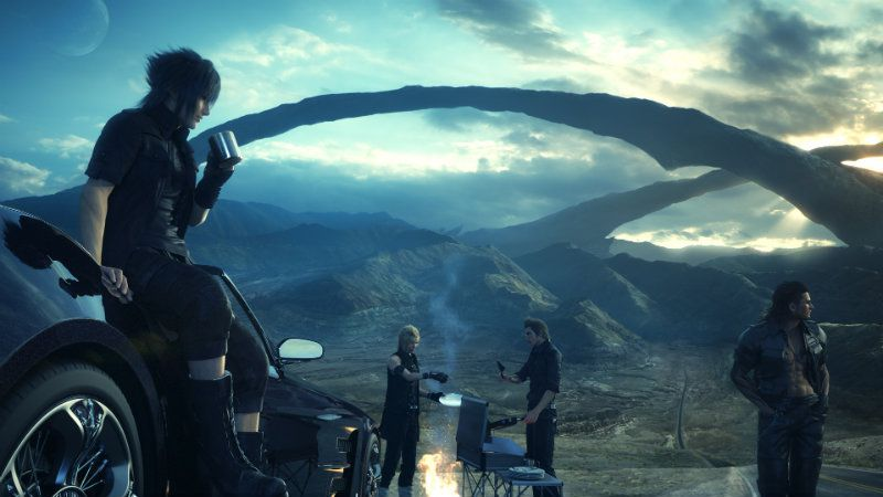 Final Fantasy XV future DLC and Online Co-op