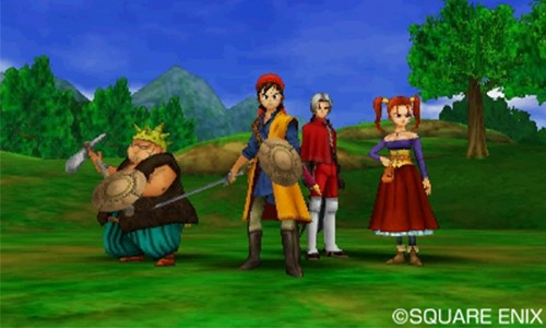 Dragon Quest VIII for 3DS out in January
