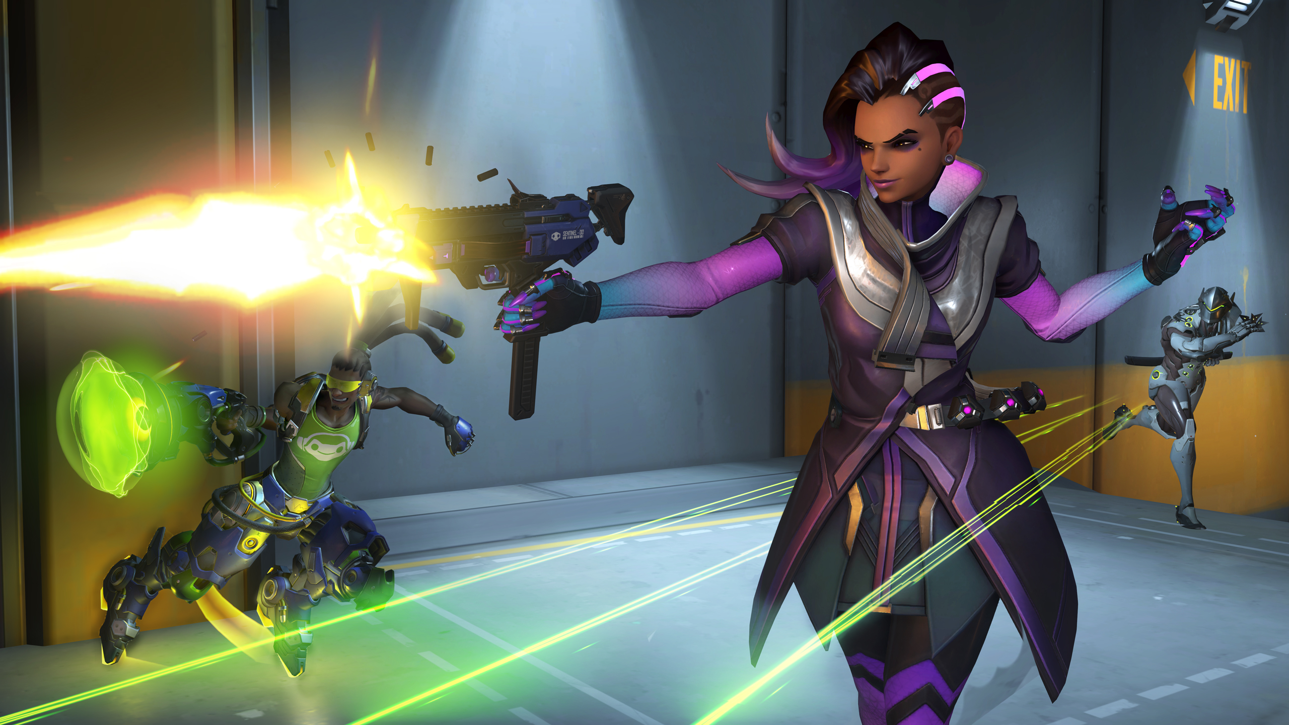 The next Overwatch hero is… Sombra!