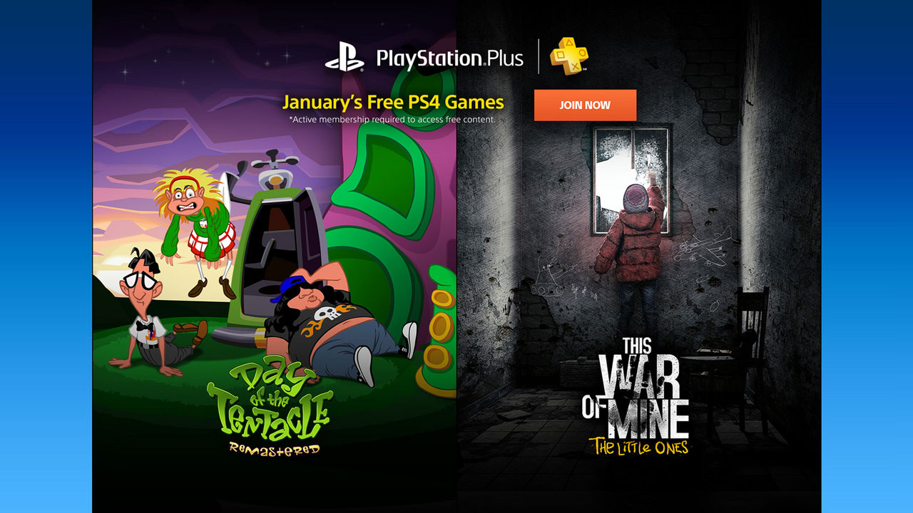 PlayStation Plus free games for January 2017 revealed