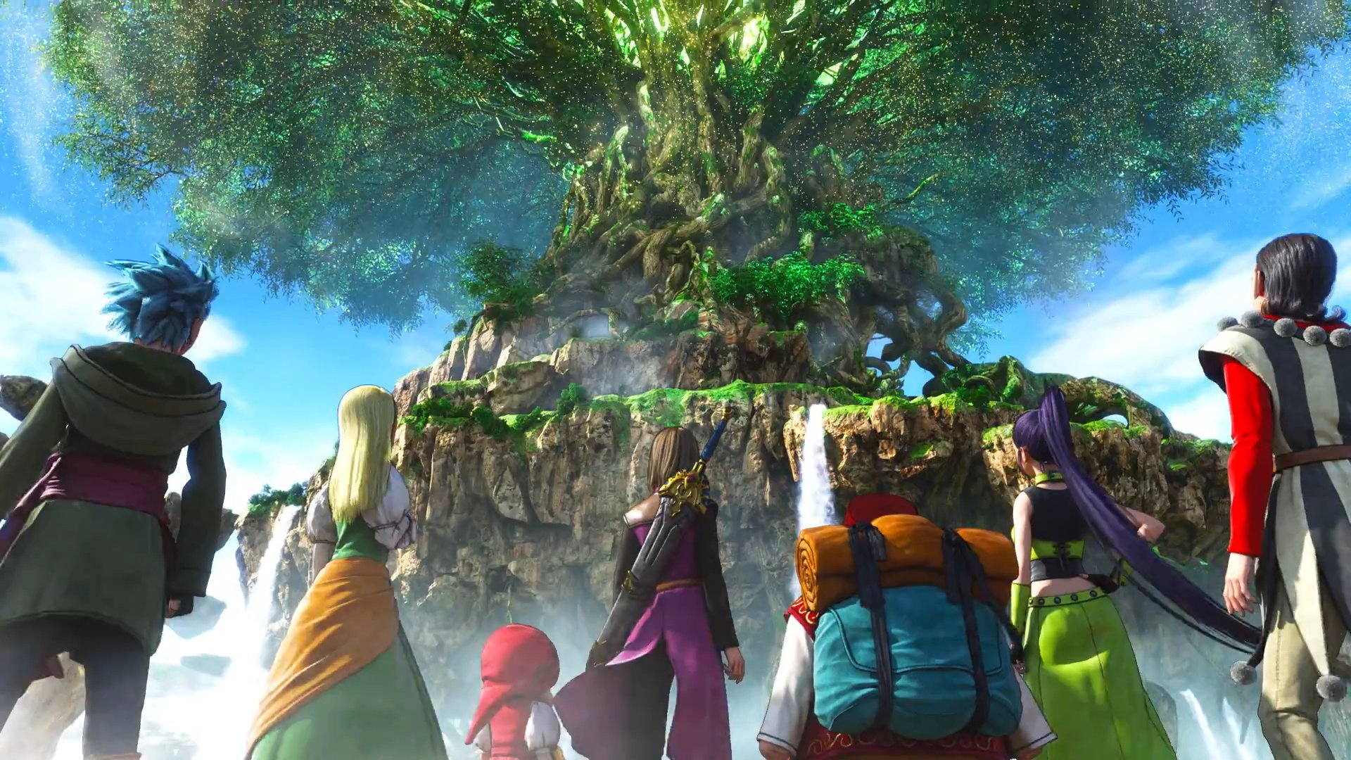 Dragon Quest XI trailer goodness