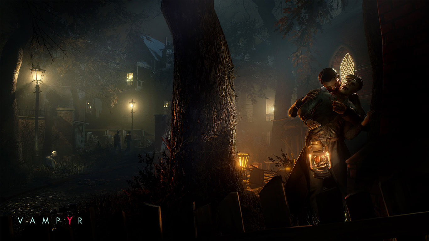 Experience The Darkness Within Vampyr's new trailer