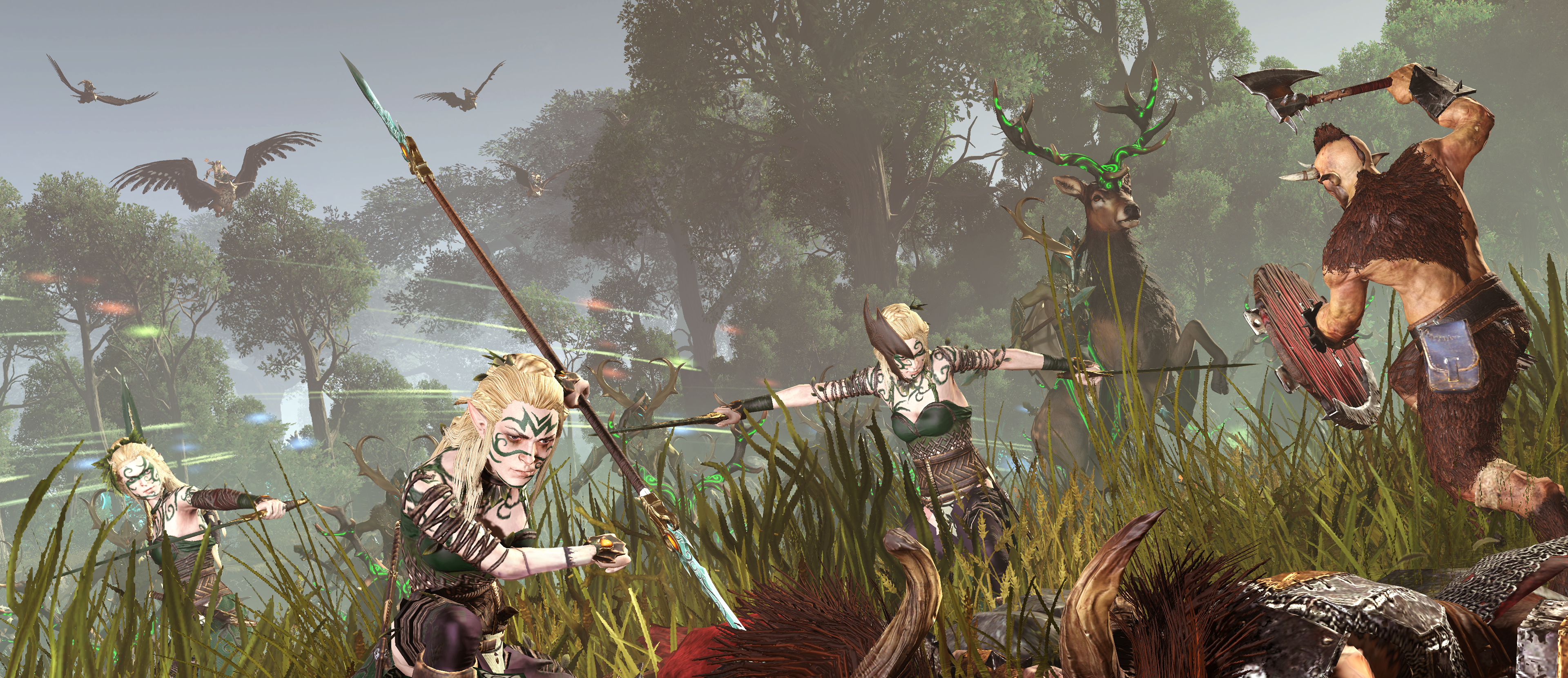 Realm of The Wood Elves DLC for Total War: Warhammer