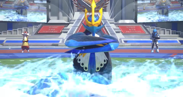 Empoleon gameplay trailer for Pokken Tournament