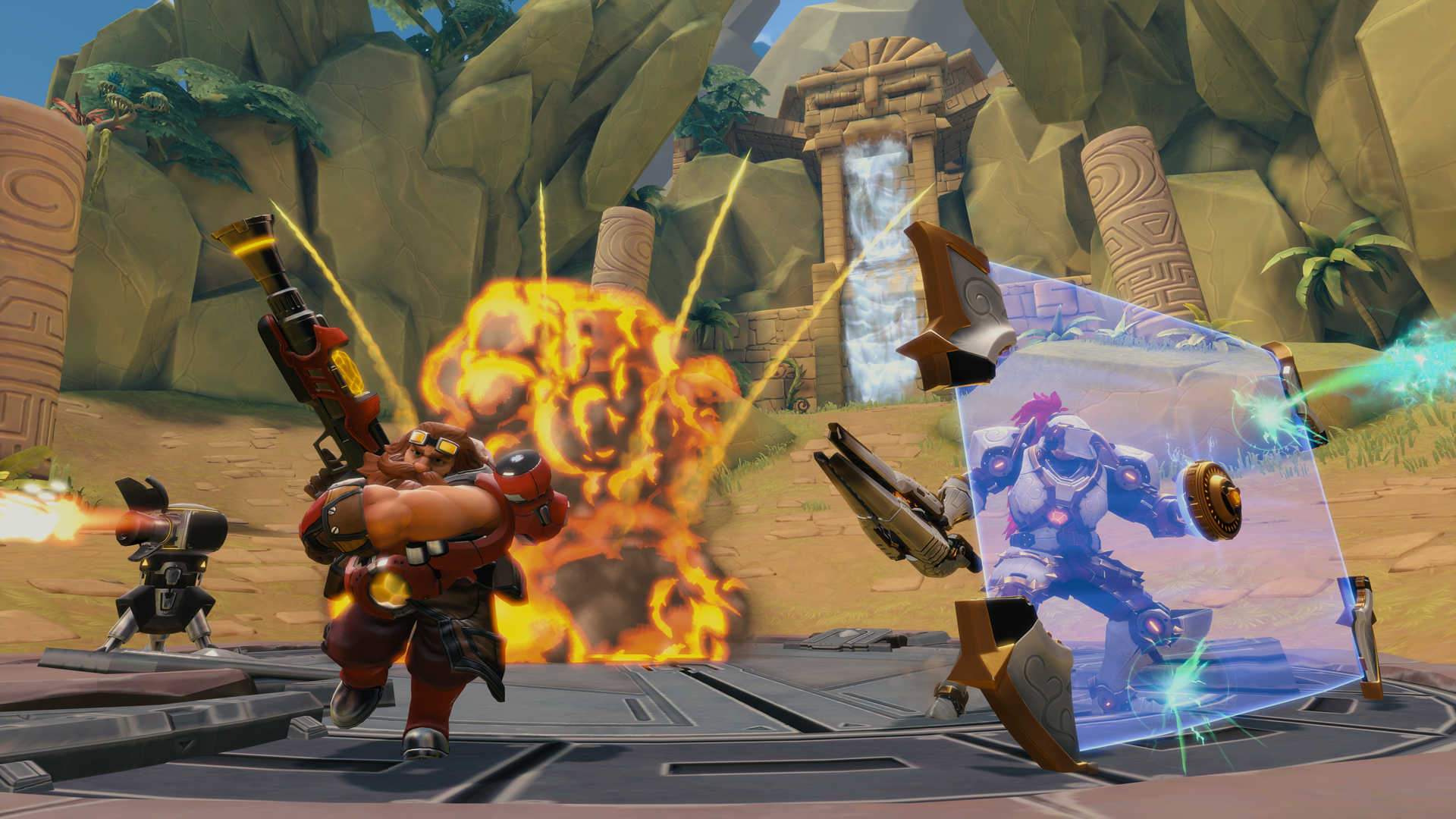 Paladins Beta hits 5 million players, Hi-Rez Expo tournament announced