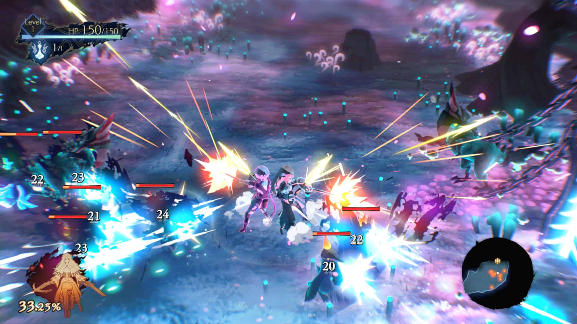 Oninaki gameplay