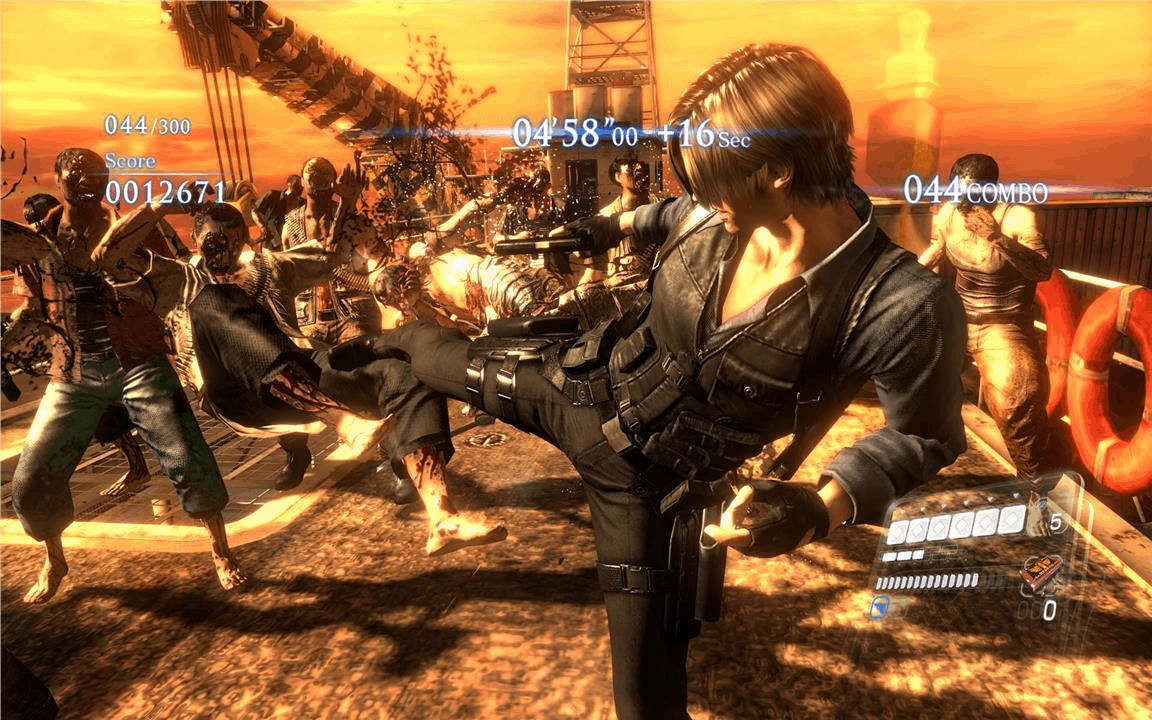 Resident Evil 6 also had a Mercenaries mode, and it was fantastic