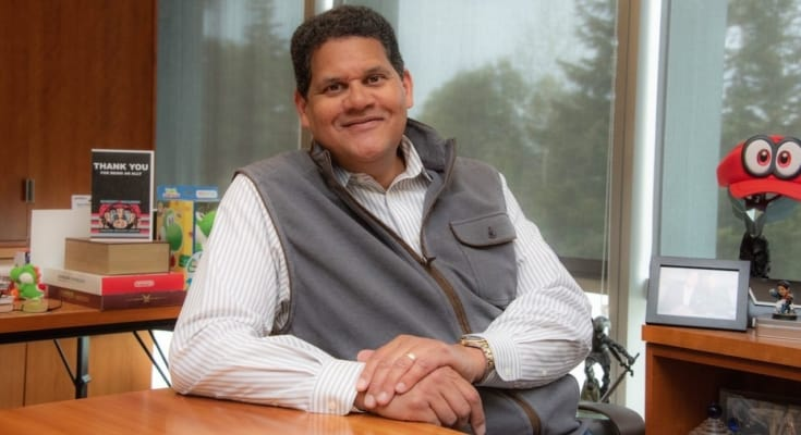 Reggie Fils-Aimé inducted into the International Video Game Hall of Fame