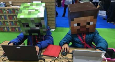 Minecraft being used by Polish government to keep kids at home